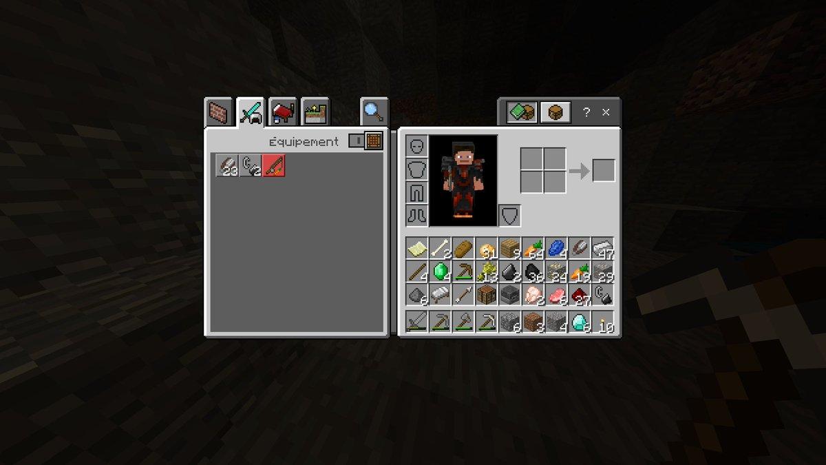 wow je galere a avoir du diamant alors que jais creuser 10 minute..... #Minecraft #XboxShare https://t.co/o7anShVIVg