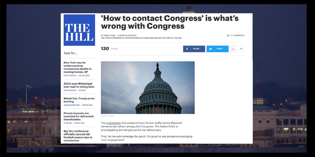 When's the last time you told your #representatives how you want them to #vote? @IssueVoter makes contacting #DC quick, easy, and effective! - Read more in @thehill >>>https://t.co/Iwh8iV0C46  #civictech #rockthevote #wevotenext  #whenweallvote #shevotes https://t.co/O3t9Ap4lpq
