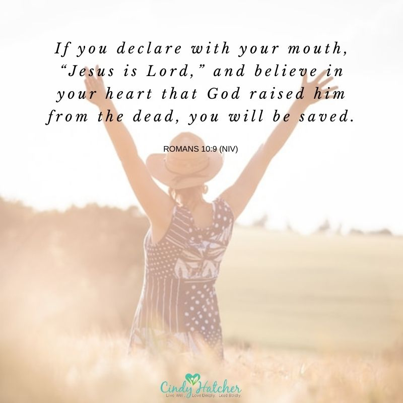 "If you declare with your mouth, ""Jesus is Lord,"" and believe in your heart that God raised him from the dead, you will be saved. Romans 10:9 (NIV) #kingdomcharacter #reviveleadership #revival #revivalistlifestyle #lifestylechristianity #kingdomcoaching #relationshipcoaching https://t.co/fNoq2A3Cdl"