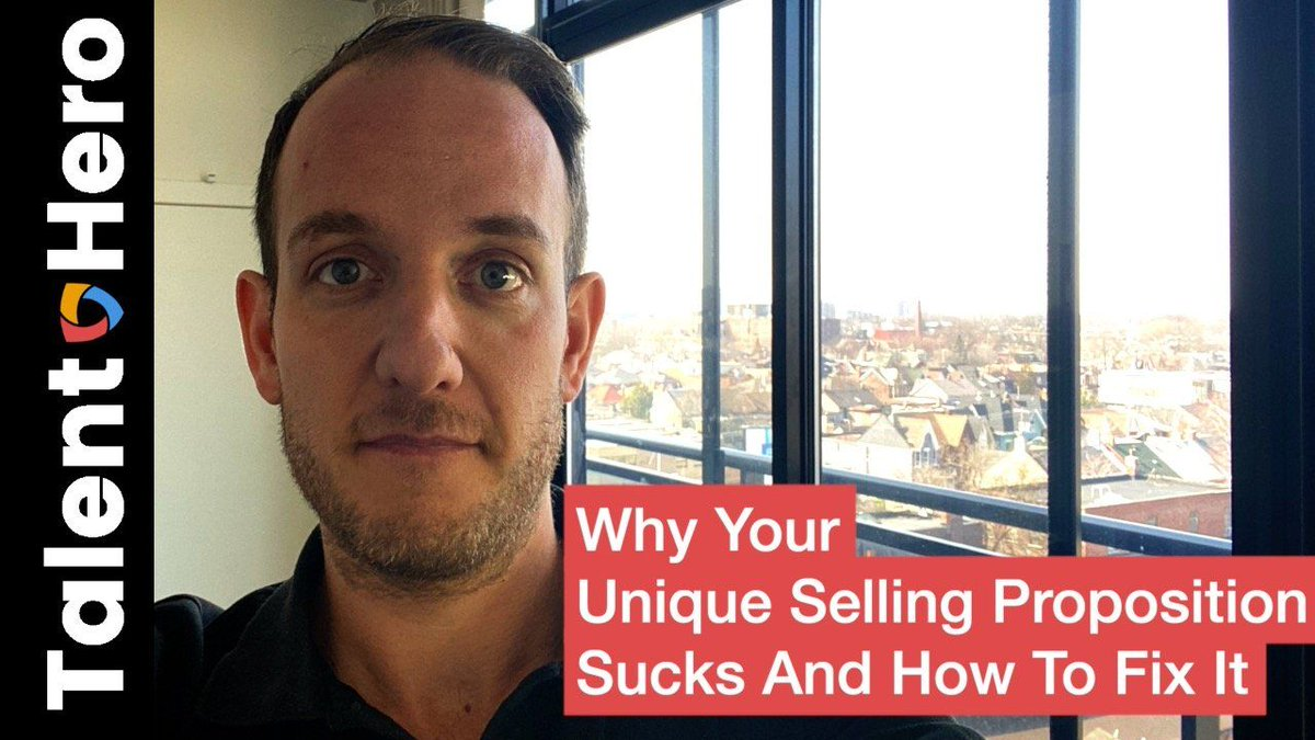 Why Your Unique Selling Proposition Sucks And How To #FixIt 💡 🔧 ❓ https://t.co/N27B50hzc6 via @talentheromedia https://t.co/VMDawo7wOA