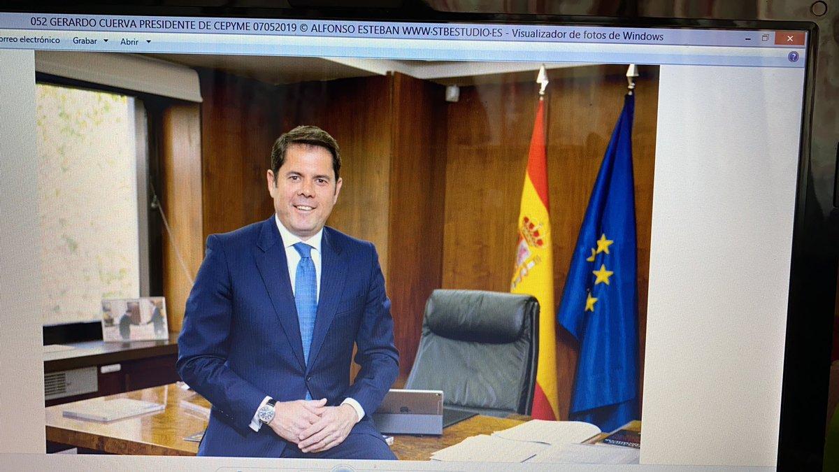 """Gerardo Cuerva, presidente de CEPYME en @cuatroaldia  """"Si queremos mantener el #empleo tenemos que apoyar a las #empresas"""" #pymes #ERTE #COVID19 https://t.co/Ty0mEGcipZ"""