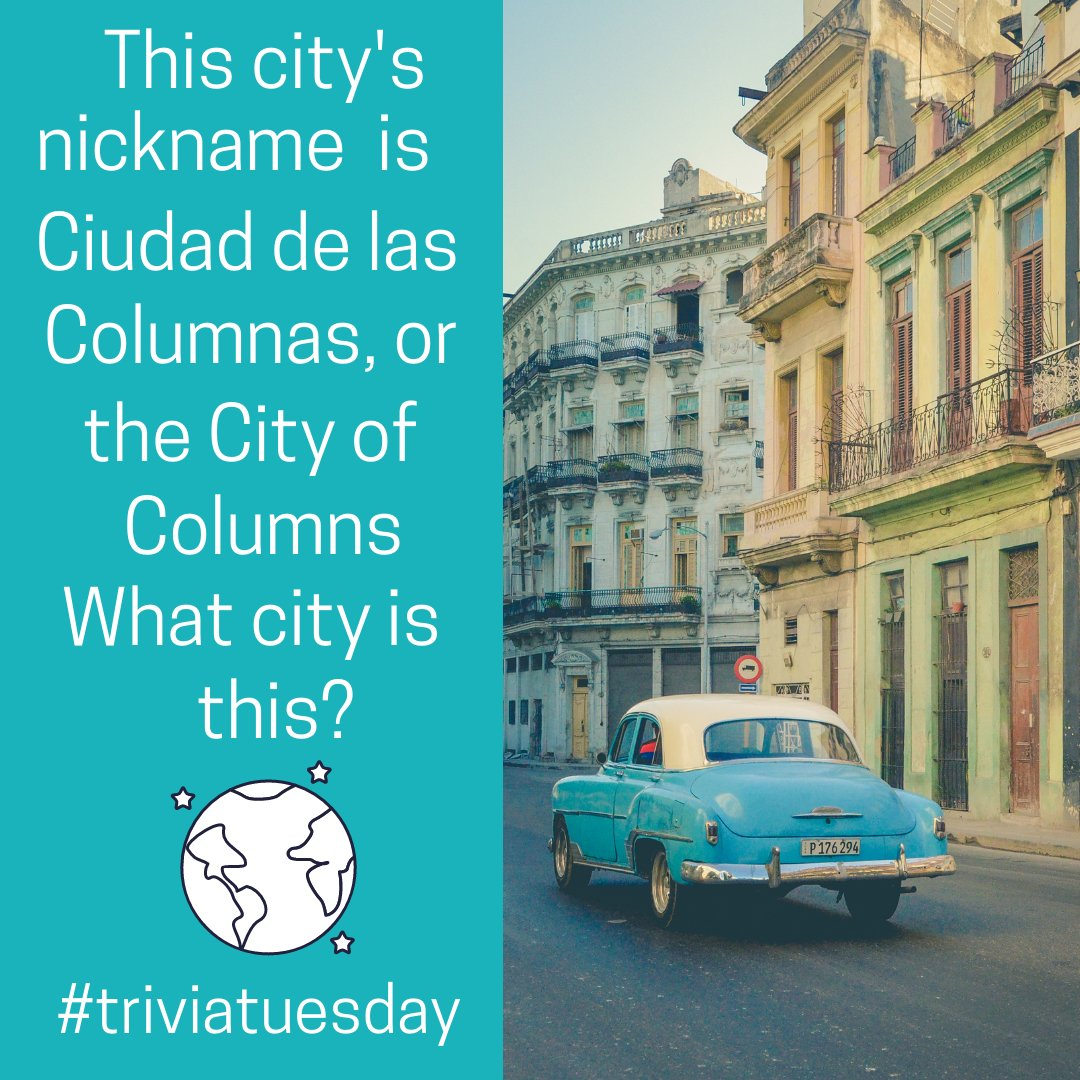 Happy #TriviaTuesday ! Your hint: this city is located in a country that is known for rum and cigars.   Comment with your guesses! https://t.co/tTrnpYaBf3
