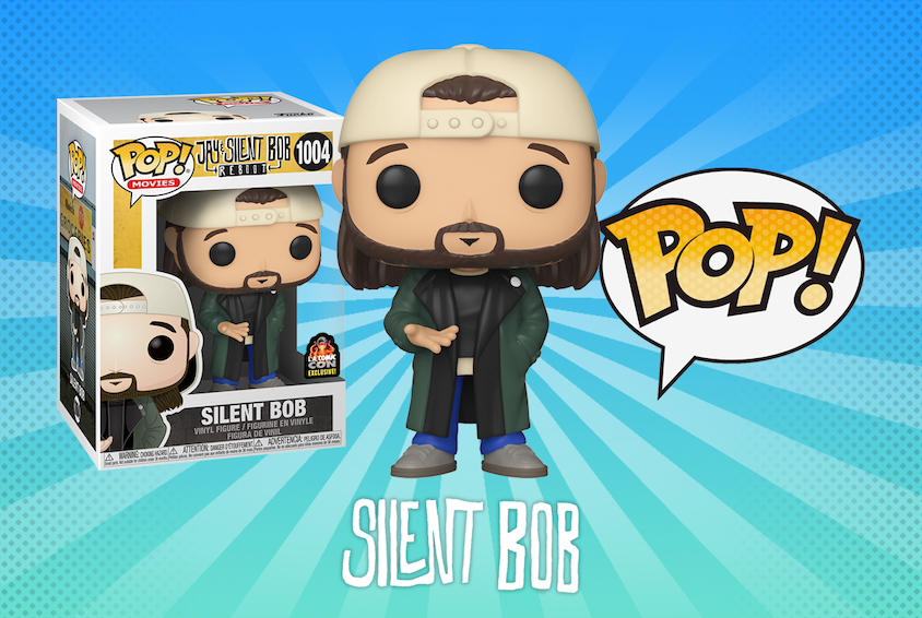 First look at LACC exclusive Silent Bob.  He can be added to cart when purchasing tickets. He will also be shared with Hot Topic! https://t.co/pyo6LC7c16