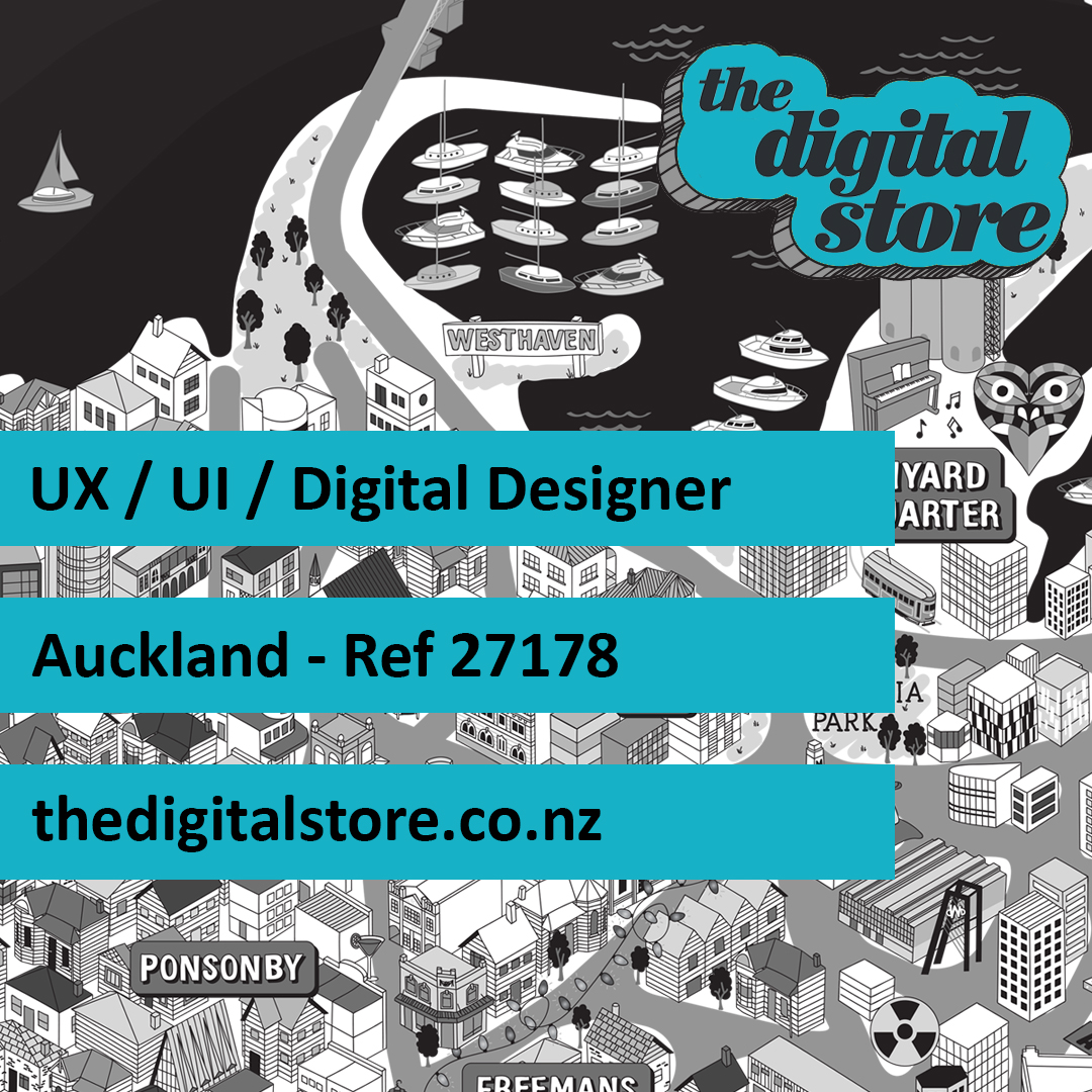UX / UI / Digital Designer hana@thedigitalstore.co.nz https://t.co/bI2DtUrOaa #UX #UI #web #inhouse #contract #technology #IT #design #digital #thedigitalstore #tds #jobs https://t.co/Yi8p2S19kH