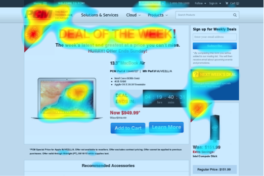 Are you ready to figure out which area on your #website gets the most attention? Try using a #heatmap.   🔥Read the post here -> https://t.co/0EiNAsnJlv   #webdesign #web #optimization #ctr https://t.co/kb4dPIuosm