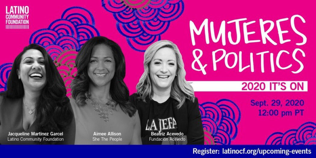 Can't wait to spend time with some of my favorite #Mujeres in #California  The are the trailblazers that know how to get things done! Yes...like all women of color... #Unstoppable   @aimeeallison @Bea_latina @WeAllGrowLatina #blackexcellence #latinatrailblazers #girlpower https://t.co/UhrBhgLOYe