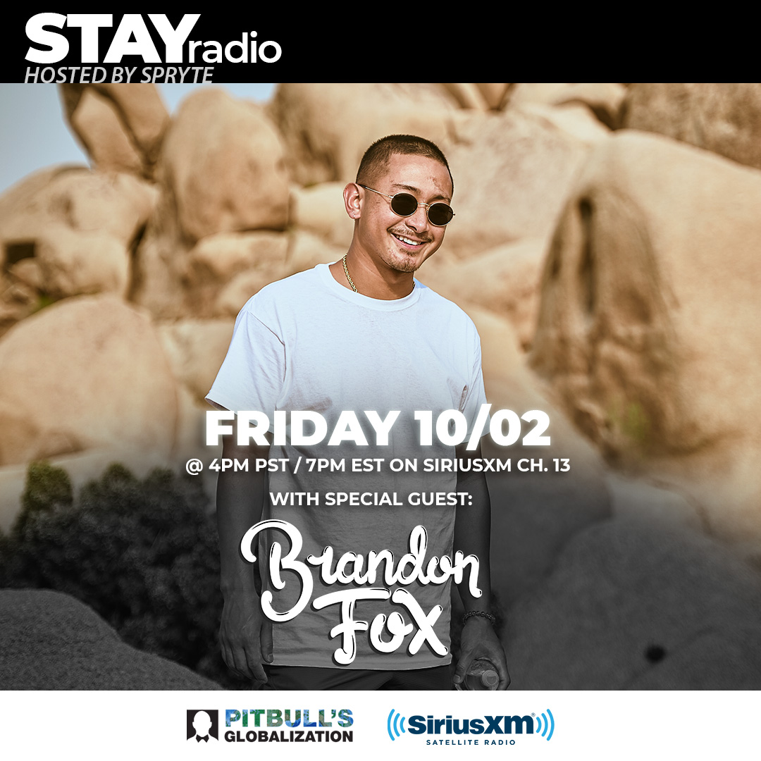 Got one of the Bay Area's finest in the building this Friday!! Tune in to Globalization Channel 13 (SiriusXM) at 4pm PST / 7pm EST. @brandonthefox @GlobalizationXM https://t.co/Jrq2RcT68G