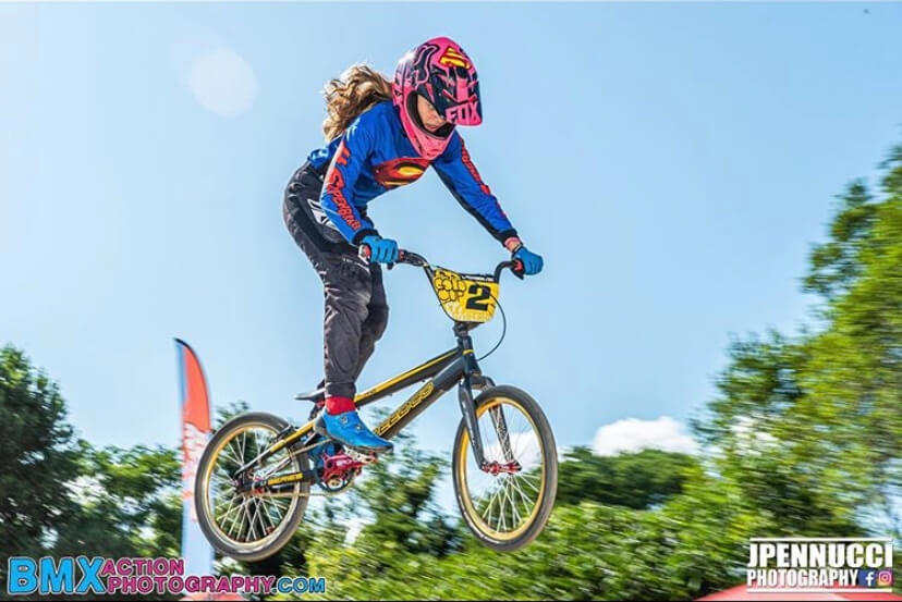 Serious props go out to one of our superstars Sam Sperrazza. Outside of being one of our fearless WRs Sam is a competitive BMX racer! Beyond proud of her and all of her achievements! 🏆🏅🏈 #Girlpower #TheHatterWay https://t.co/pbD3cjPtOm