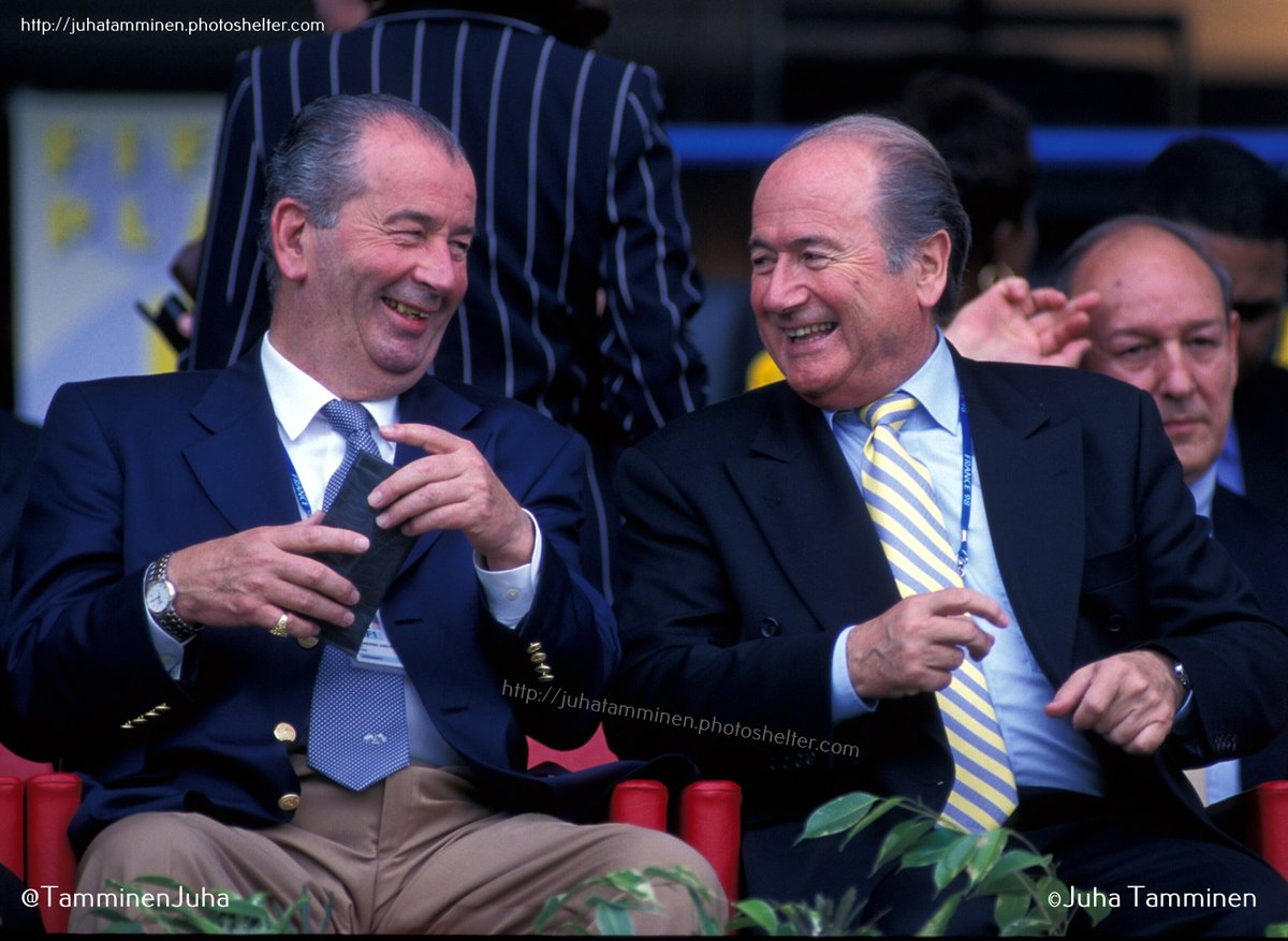 Qué fue tan divertido? Ideas? #Grondona #Blatter #FIFA #France98 #corruption