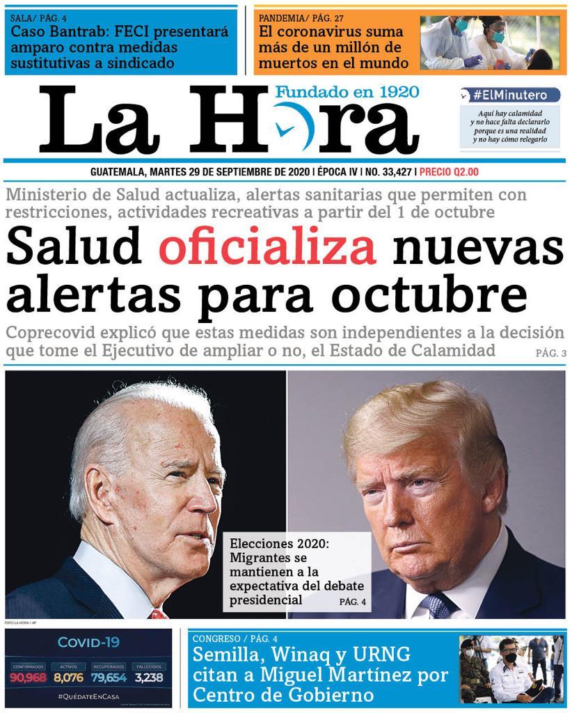 test Twitter Media - #PORTADADEHOY Salud oficializa nuevas alertas para octubre 👉🏽[https://t.co/DFNmhQGZDA] https://t.co/7QGWQVB9nO