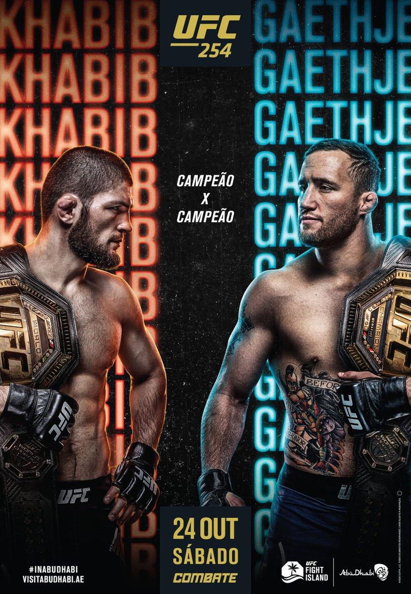 CAMPEÃO x CAMPEÃO Alguém mais está ansioso pelo #UFC254?  [ #InAbuDhabi | @VisitAbuDhabi] https://t.co/7Y3mpIdEHo