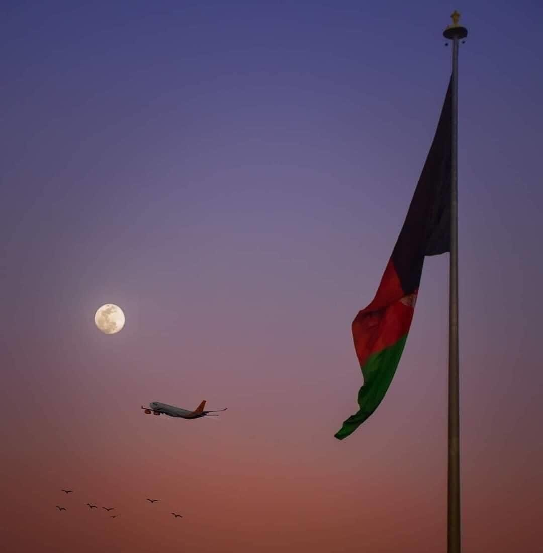 A click from #Kabul Airport ✈️ #Afghanistan 🇦🇫 https://t.co/yfZ7MDwxoY