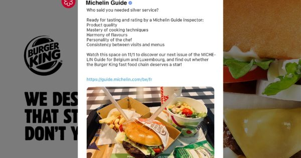 #MARKETING NEWS: Burger King Is on a Quest for a Michelin Star https://t.co/cWpTq2CIzW #socialmedia #advertising #influencermarketing https://t.co/VEPlWYVOBq