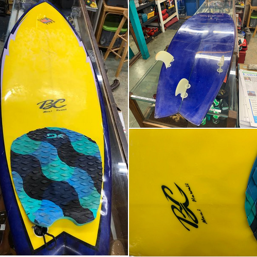 "BC Maui Surfboard 5'11"" fish thruster, good condition $350 OBO #808-667-7689 https://t.co/kXPHwpVTaV #forsale #surfing #surfer #maui #surf #localsurfboards #hawaiisurfboards #hawaiisurfboardshapers  #mauisurfboardshapers #mauisurfboards #localshapers https://t.co/34LxoPAPVv"