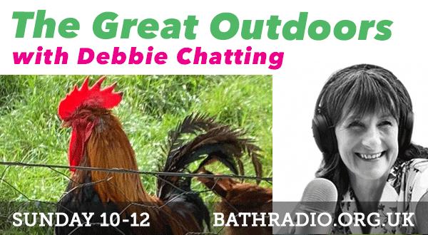#thegreatoutdoors with Debbie Chatting Weds 10-12. @BornChatting's been out to @BathCityFarm, chatting to Lucy Bartlett from @Bathscape. Also talking to @JamesNunnArt artist. Listen via https://t.co/x9870fmERJ. #bathradio #radiobath #communityradio #bathcommunity #bathlife https://t.co/uVGxt3xsnb