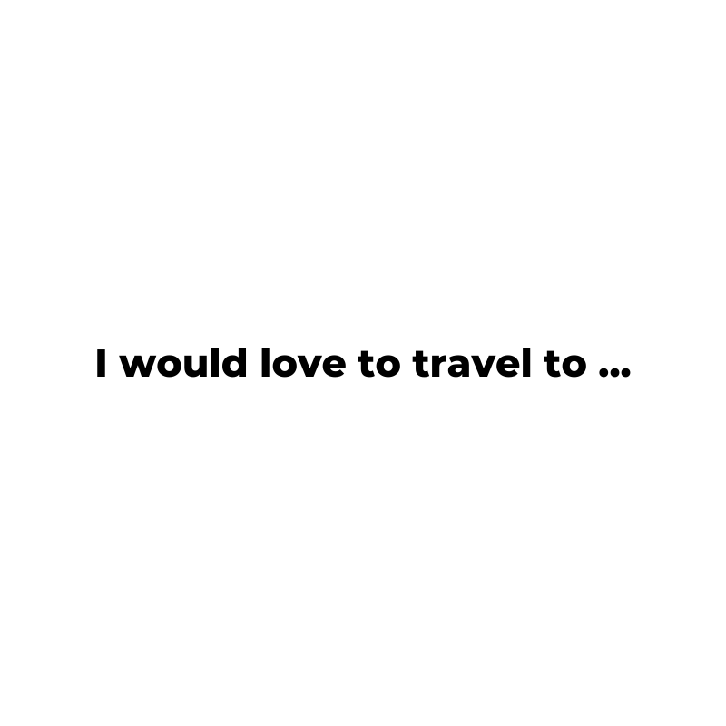 When everything is back to normal, where do you want to travel to? #travel #influencermarketing https://t.co/aLqMwjPHpP