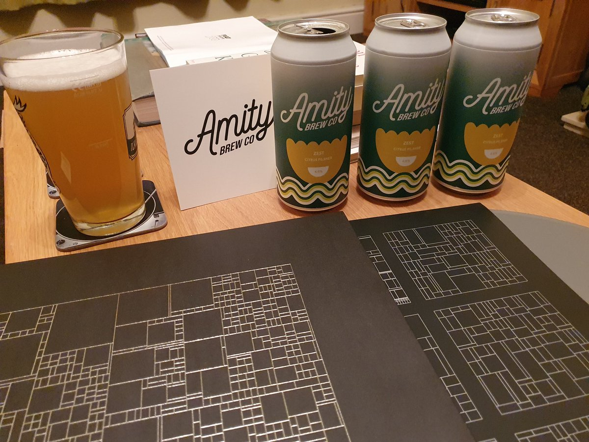 Tonight I shall be enjoying a #local evening; the new Zest Citrus Pilsner from @AmityBrewCo with the awesome new @iLiKETRAiNS album Kompromat courtesy of @JumboRecords #Leeds #Farsley #beer #vinyl https://t.co/UdimeAXXVv