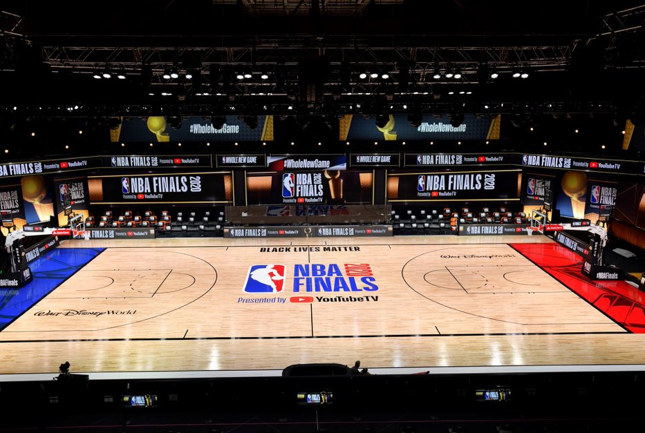 NBA 2020 Finals presented by @YouTube TV  #NBAPlayoffs #NBAFinals https://t.co/agDCayz4yj