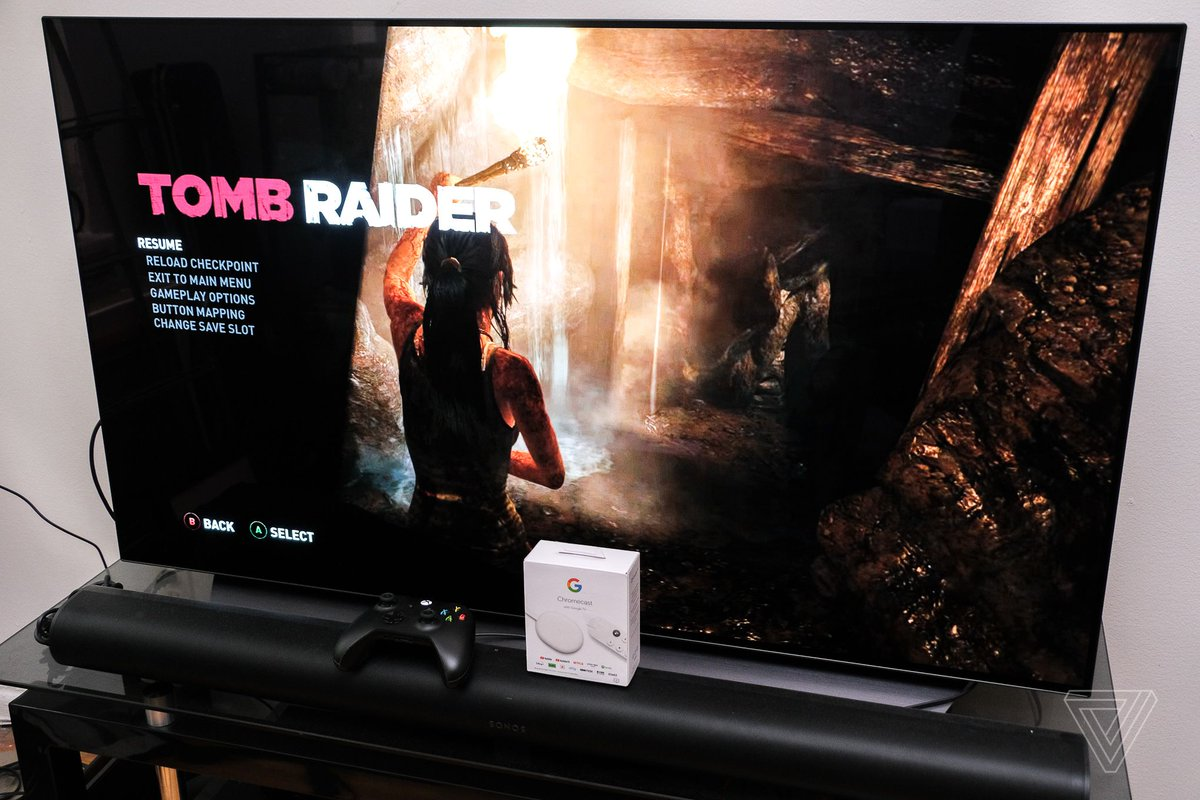 Our unannounced Google Chromecast didn't come with Stadia, but it sure does work