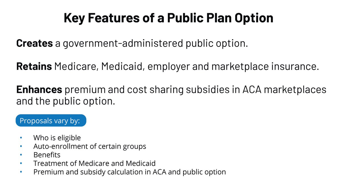 To achieve that objective,  #Democrats will give all Americans the choice to select a high-quality, affordable public option through the Affordable Care Act marketplace.4/11  #DemPartyPlatform  #PublicOption  #Healthcare