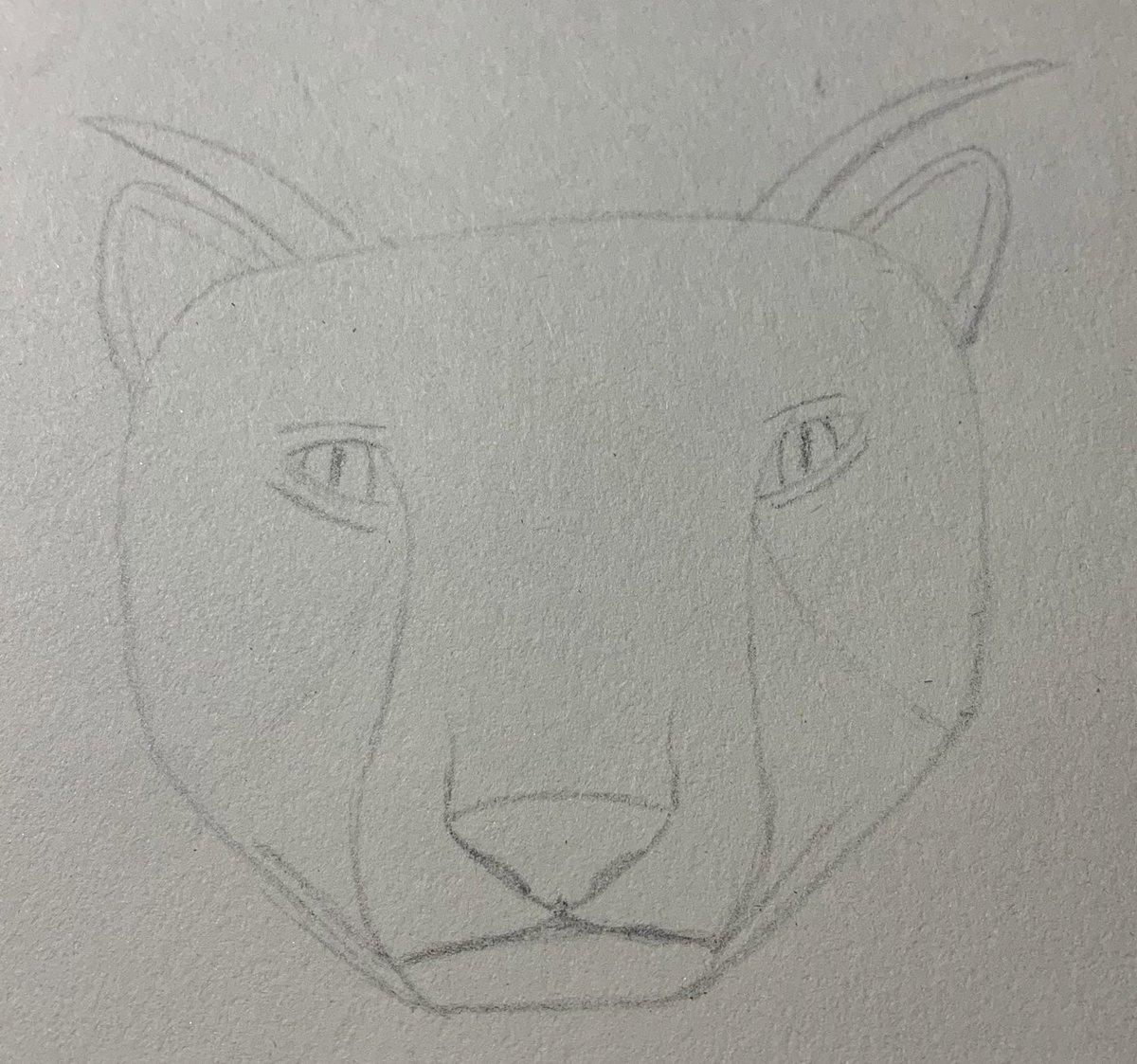 Fursona loading (it's gonna be a demon leopard with a fro-hawk)  #drawingwhileblack #fursofcolor #beginnerartists https://t.co/lUtBKZo48e
