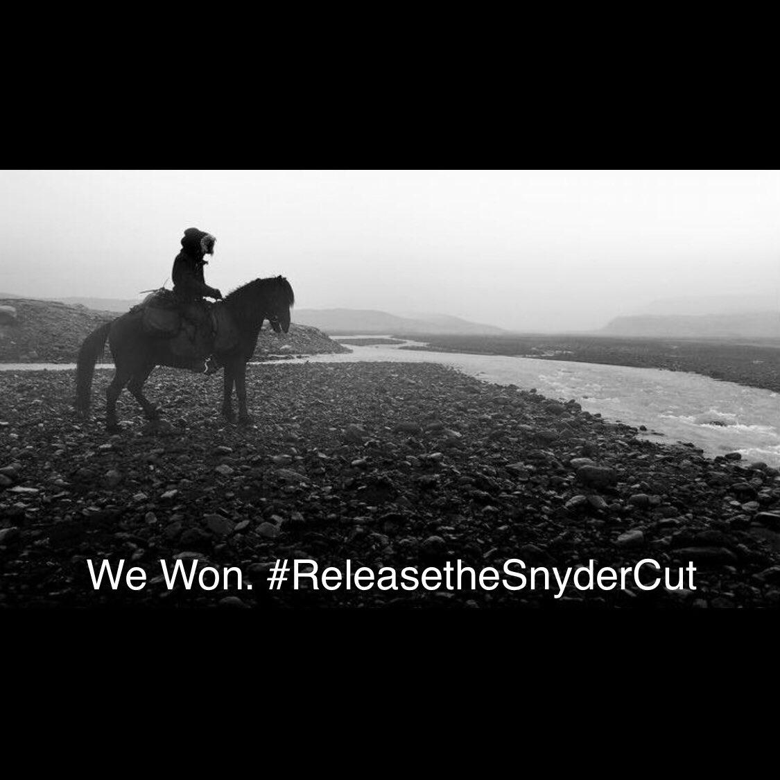 Ganamos! #ReleaseTheSnyderCut https://t.co/eApGbWGxTD