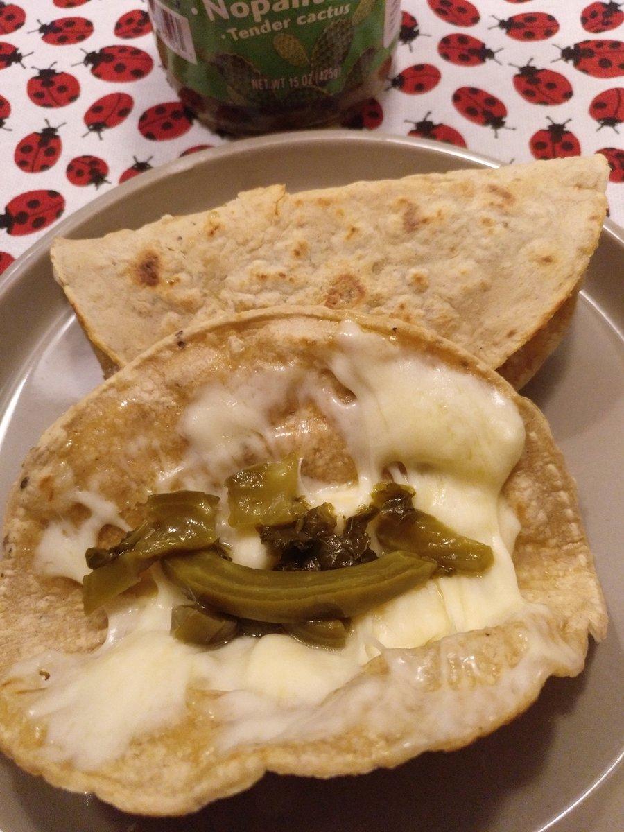 Tender cactus 💚💚💚 ⠀ #comeresunplacer #instafood #instayum #foodspotter #foodlover #foodie #gastroranking #eatme #comida #igfood #madrid #foodporn #foodiesmadrid#homemade#home #tacos #quesoOaxaca #tendercactus #nopales #quesadilla #tortillas https://t.co/JgvMpyBQkk