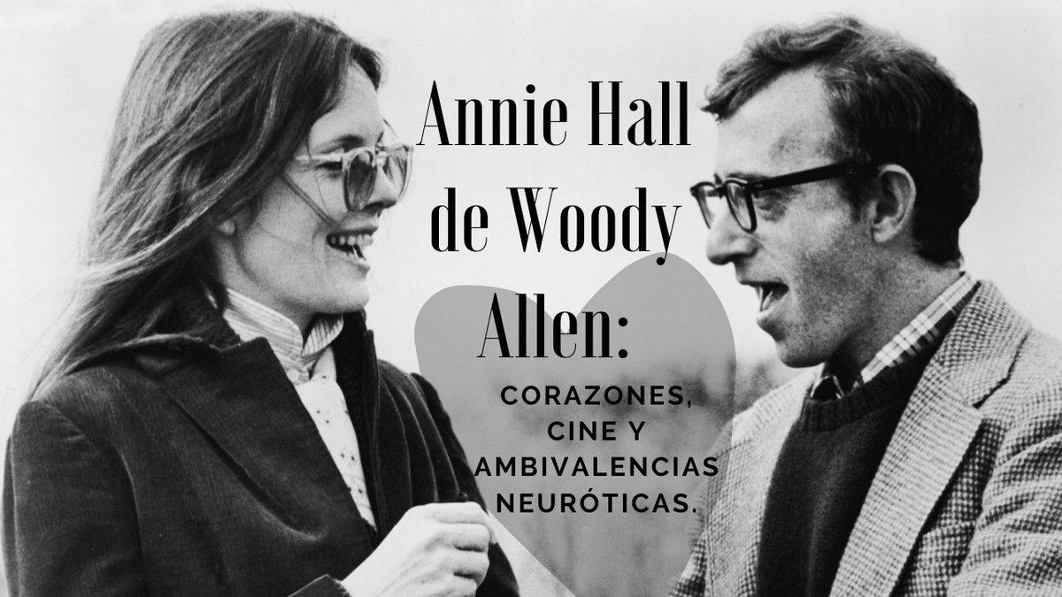 📽[𝙿𝚎𝚕í𝚌𝚞𝚕𝚊𝚜] Annie Hall es la gran obra maestra de Woody Allen, filmada en 1979 y protagonizada por Diane Keaton y el mismo director. Lee esta reseña en el siguiente link: https://t.co/SbCgcxlJgh #WoodyAllen #AnnieHall #Películas https://t.co/hFGy8wAQEe