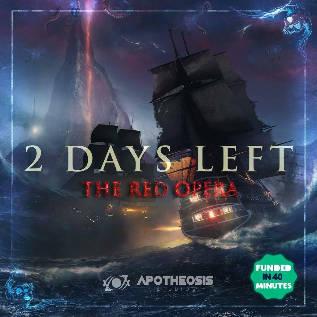 2 Days To finish this campaign! Join us until October 1st on Kickstarter at https://t.co/RKAiirFeN9 . . .  #apotheosisstudios #fantasy #fantasyart #fantasybooks #fantasyfiction #graphicnovels #indiegame #indiestudio #dungeonsanddragons #rpg #tabletopgame… https://t.co/BVseesHwDo https://t.co/VEzcIfjO8W