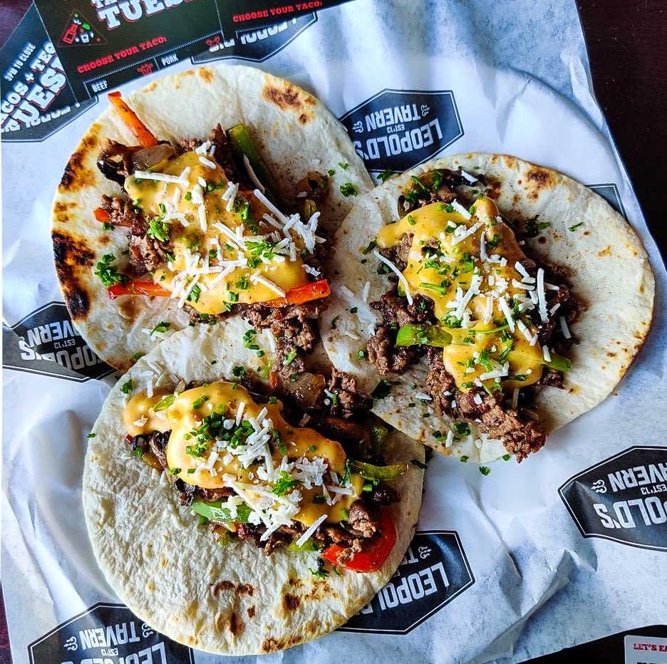 It's your final chance to CRUSH the taco of the month!   PHILLY CHEESE STEAK!   💥TACOS+TEQUILA TUESDAY💥  ⚡️$3.50 tacos⚡️ ⚡️$8 double margaritas⚡️ ⚡️$21 6oz share margaritas⚡️ ⚡️$4 tequila shots⚡️  #seeyouatleos #tacos #tequila #margaritas  https://t.co/fQ87usSstK