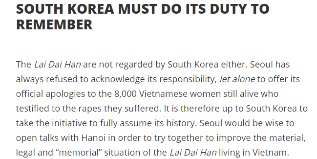 @mr_akita #CancelKorea  #KoreanNazi #Vietnamwar #Laidaihan #learnhistory #Vietnam #FightRacism https://t.co/b5RPEWiCDM