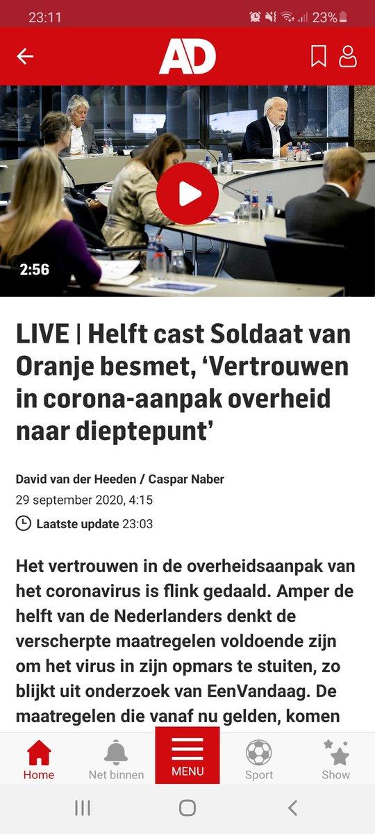 Breaking news: Musical soldaat van oranje wordt NIET verlengd. #BREAKING #BreakingNews #soldaatvanoranje #musical #nieuws https://t.co/j7QfTG0bVz
