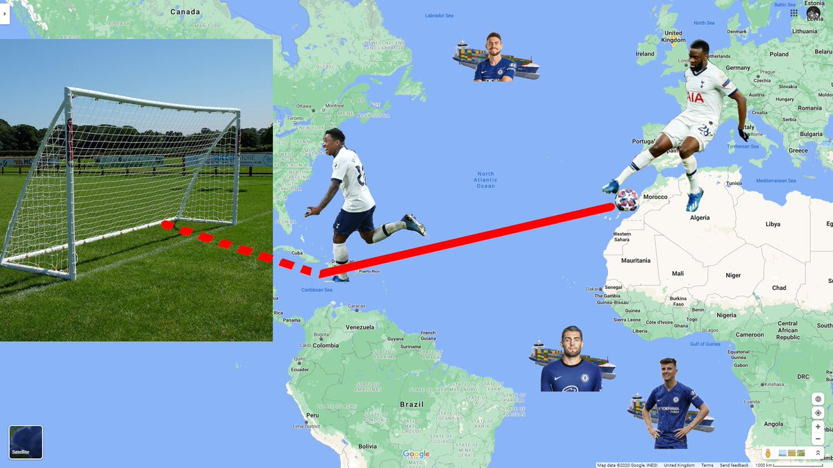Here is my extremely detailed tactical diagram based off this Tottenham-Chelsea match.  As you can see in figure (1), Frank Lampard's tactic to let Tottenham pass through his midfield did not work. #BreakingNews #TOTCHE #franklampard #lampardout 🤦♂️ https://t.co/aKEIxQDJhb https://t.co/IVbJntGRNT