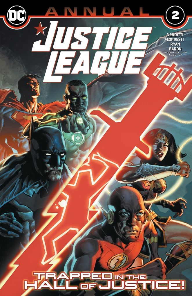 """#JusticeLeague Annual #2 - """"a fun, well written story"""". Read the full #review at https://t.co/q3hOtMuBrq https://t.co/Rz9duElAwN"""