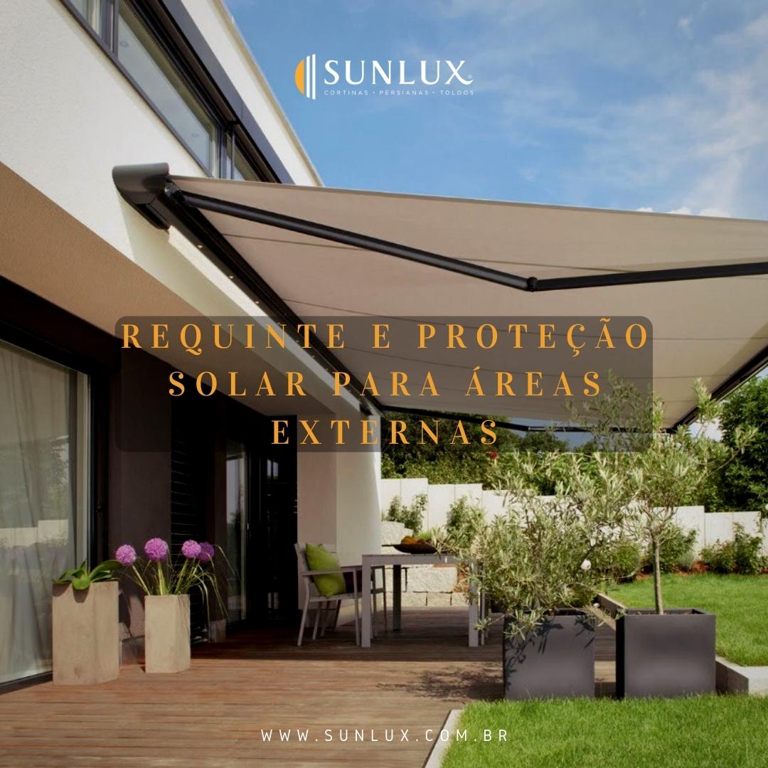 Peças para área externa? Temos também! São uma infinidade de produtos e de seus usos.  Projeto da @cia.daspersianas com produtos Sunlux.   Confira mais em https://t.co/XFusdM0ENX  #teromelhorepossivel #cortinas #persianas #toldos #modernize #sofisticacao #sunlux https://t.co/yvRX2rSyxc
