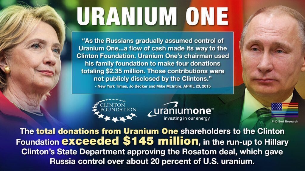 @cjtruth @ChadPergram Never Forget URANIUM ONE ... tentacles far & wide. What was Obama's pseudonym for that purposefully setup ILLEGAL SERVER & where is his BlackBerry??? https://t.co/aQluoEfXAd