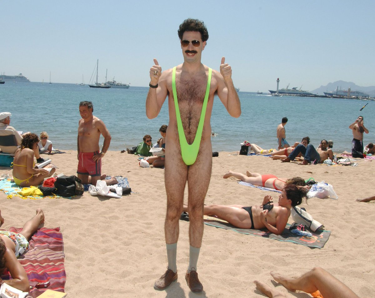 #Borat 2 (Full title: Borat: Gift of P*rnographic Monkey To Vice Premier Mikhael Pence To Make Benefit of Recently Diminished Nation of Kazakhstan.)  will land on #AmazonPrimeVideo right before the election. (Source: Deadline. https://t.co/jDGymjJTHi.) https://t.co/CUFVNr6J57