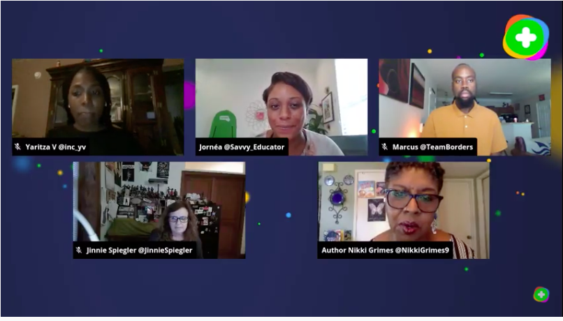 On my way to a meeting and had to stop in to see @Flipgrid  opening the conversation on #Race, #Equity, and #Justice. Empowering your students to be voices of change. #Flipgridforall @inc_yv #yvresources #Novoicetoosmall https://t.co/dnV5ESYdKm https://t.co/ATv9RqgFCu