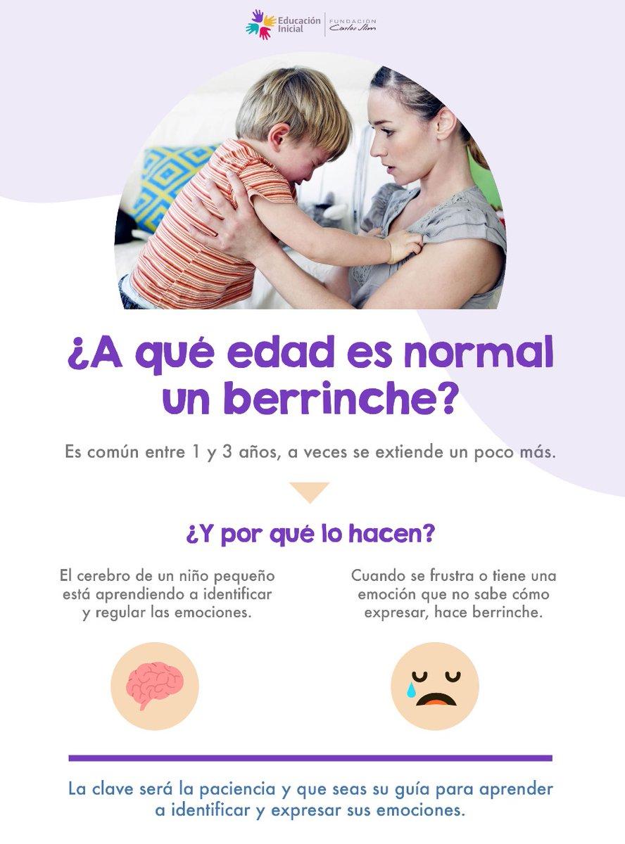 ¿Sabías que es normal que los niños de 1 a 3 años hagan berrinche? Aquí te decimos por qué…  #Berrinches #Emociones #QuéEsLoNormal https://t.co/7yqCJrD0rs