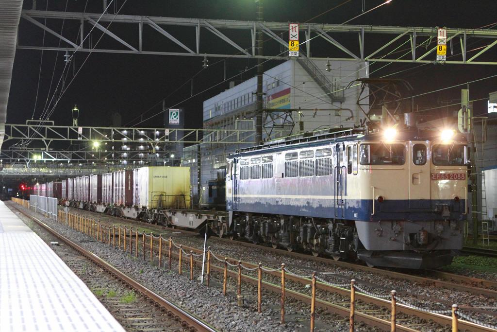 2020年9月29日の蘇我駅 4098列車 https://t.co/cbmJI8ooov #蘇我駅 #貨物列車 #電気機関車 #EF65形 #京葉線 #JR貨物 https://t.co/oGxmHo7ptU