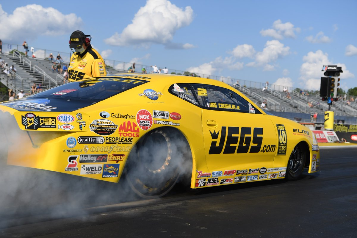 Jeg Coughlin Jr. looking to regain control of Pro Stock class and Mike Coughlin turns attention to national Top Dragster points https://t.co/1ObXSwtecj https://t.co/GhtSc9wvCa