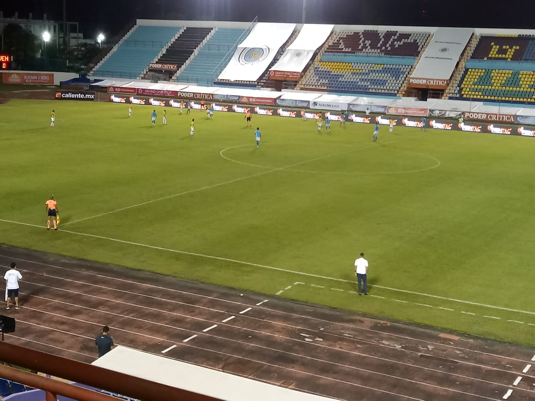 Al medio tiempo J7   @cancun_fc 1-1 @venadosfc   Goles de Lucas Maia y Rodrigo Prieto  #LigaBBVAMX #ExpansionMX https://t.co/Wf7SD3PExl