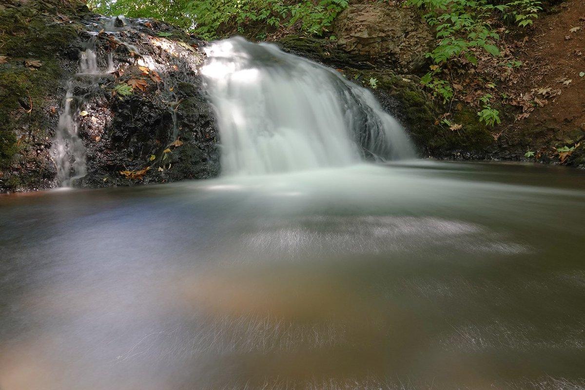 札幌は精進川の滝。この日は滝登りなし。 #精進川 #精進川の滝 #滝 https://t.co/uJsbdUdsdk