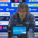 Image for the Tweet beginning: 📽️ #RUEDADEPRENSA  🗣️Pellegrini tras el partido