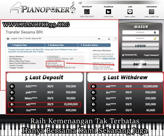 Mau dapatkan Penghasilan Menggunakan HP Androidmu ? UNTUK INFO LEBIH LANJUT WA : +6282132987783 Kemenangan Mutlak bersama PIANOP0KER #dominoqq #aduq #bandarqonline #indonesianpoker #pokeruangasli #indonesiapoker #judionline #situspoker #bandarpoker #pokeronline #Pianopoker https://t.co/BXU0FlL6ox