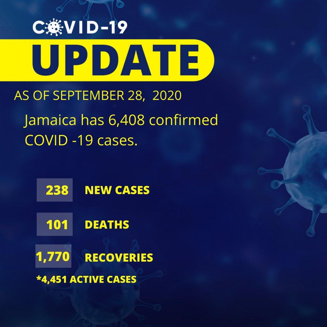 Please see COVID update and #WearYuhMask  #JISNews #COVID19 #StayHome https://t.co/RrK0uYFGTT