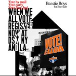 Image for the Tweet beginning: Beastie Boys x @WhenWeAllVote
