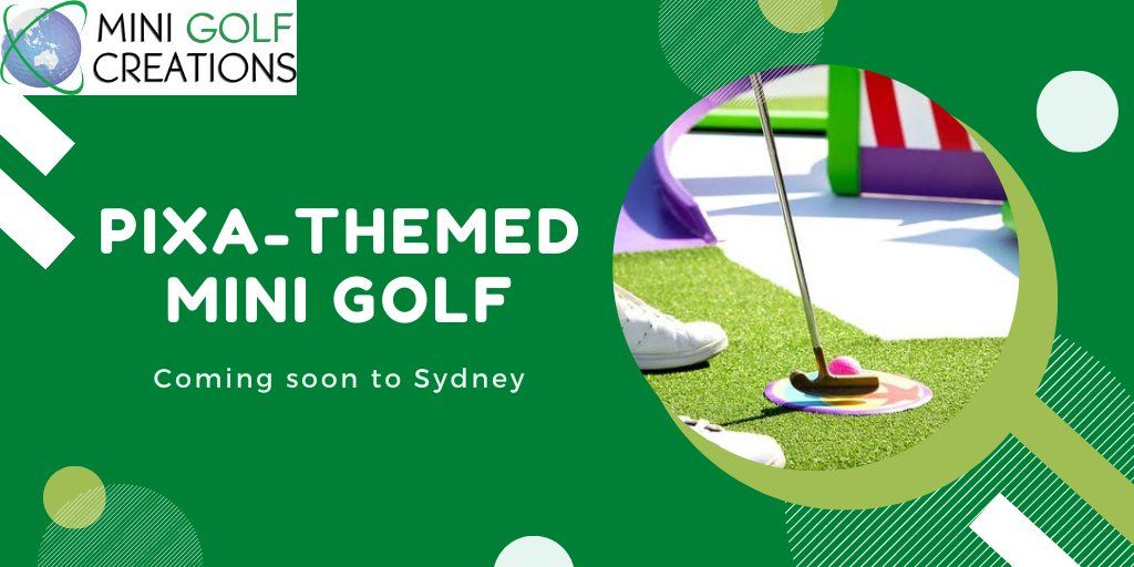 The #pixar themed #minigolf course will once again open in Sydney later this year. With 18 holes over 800 square metres, featuring #FindingNemo and #Monsters this new course will be the highlight of every mini golfer's dream! https://t.co/rM3gvcyM4l https://t.co/OepRFqd3rG