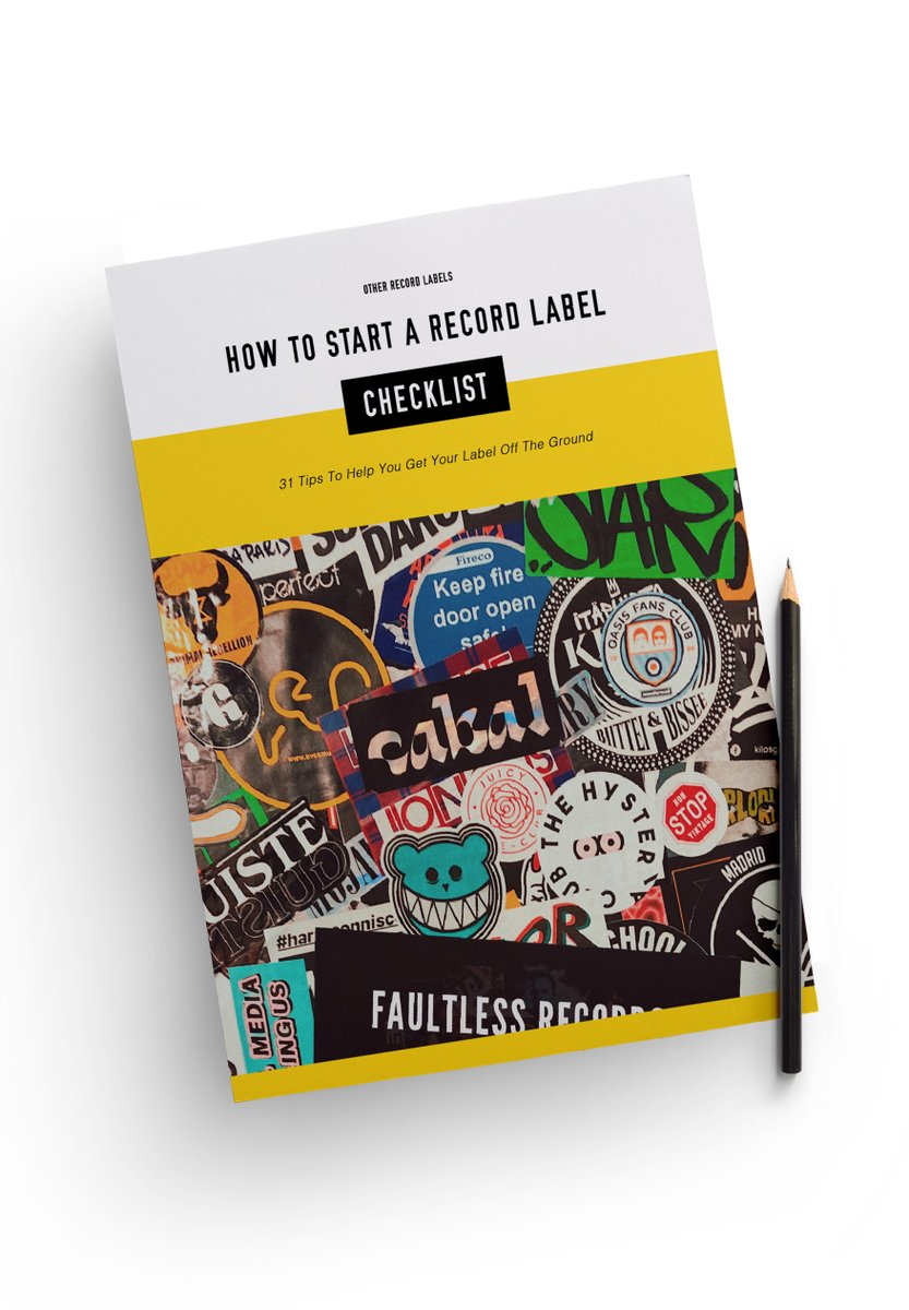 """If you're thinking of starting a #RecordLabel then download our free """"How to Start a Record Label Checklist"""" to help get you started! https://t.co/ocMO6F0LGz https://t.co/gu9N0nb8Xf"""