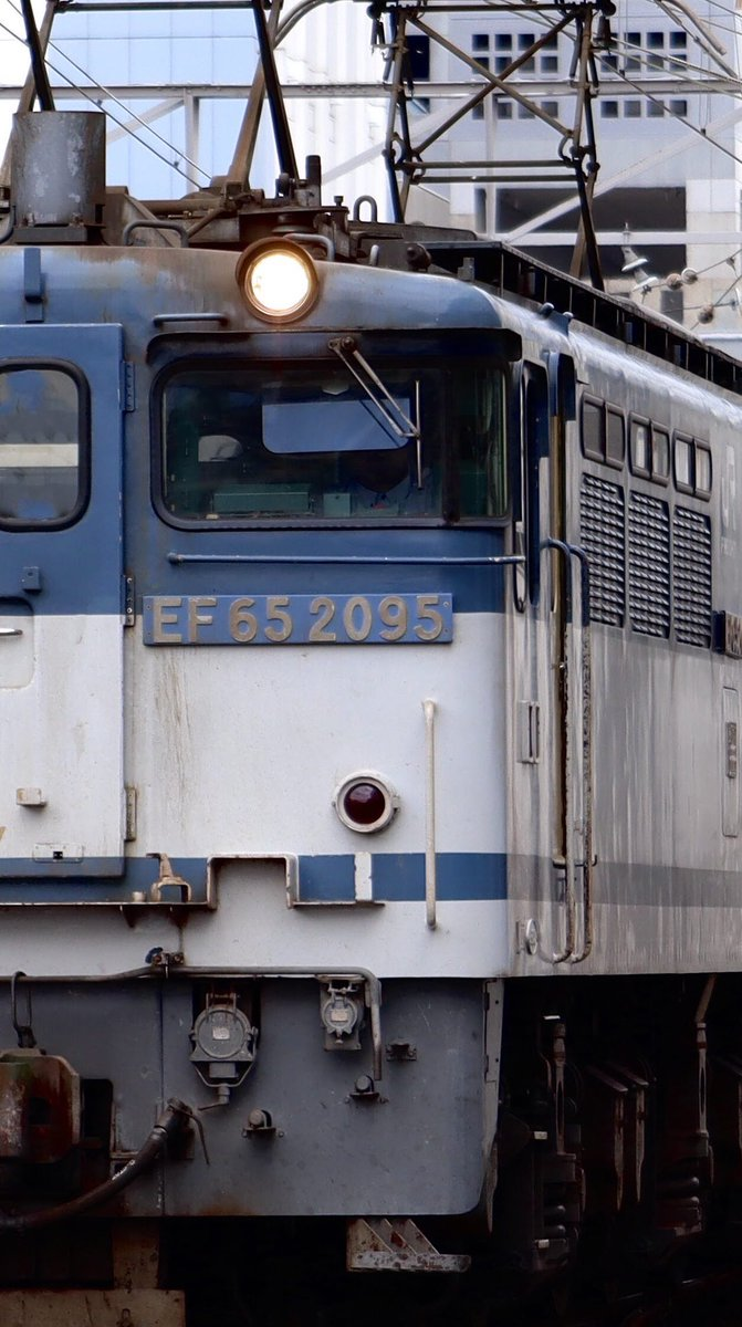 #新鶴見a21運用 #5087レ #EF652095 #EF65pf #新鶴見機関区 #貨物列車 #電気機関車 https://t.co/mDb9e33RWc